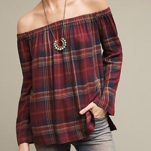 Cloth & Stone | Homestead Off the Shoulder Top S